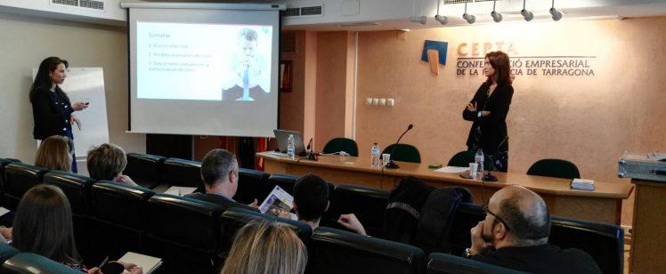 Bemypartner organiza una jornada sobre comunicación de crisis para empresarios de Tarragona