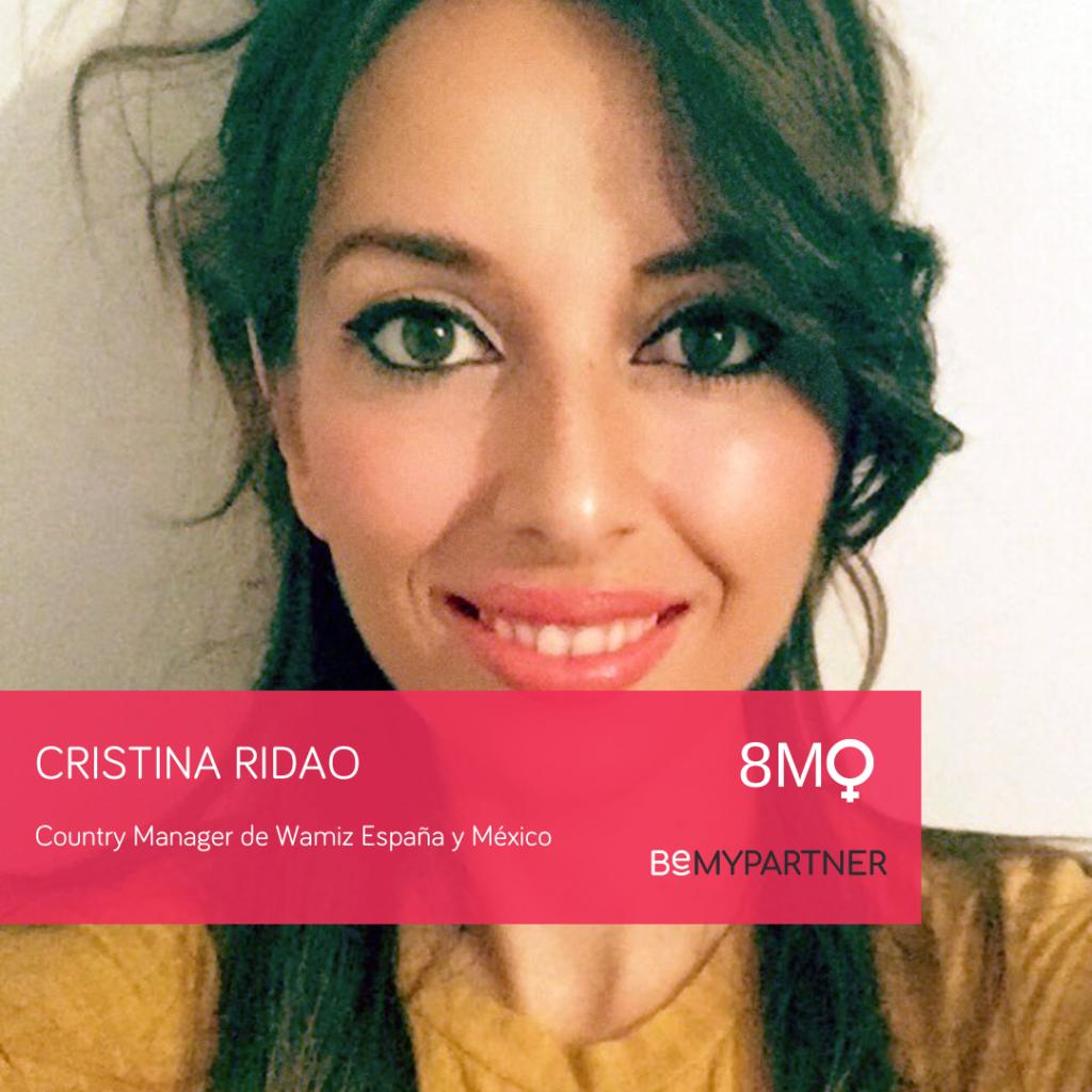 Mujeres directivas: Cristina Ridao